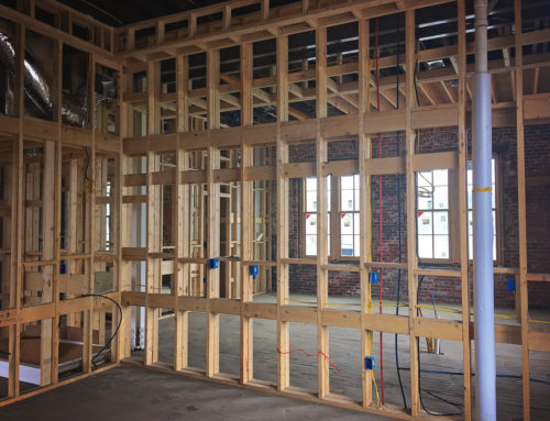 Loft Framing Nearing Completion